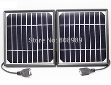 5W Solar Charger Mobile Phones+Dual USB Mono Panel battery power station - Cooleleparts Center store