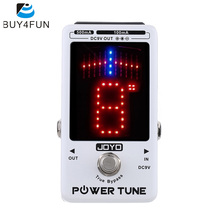 Top Quality JOYO Electric Guitar Bass Tuner & 8 Port Multi-power Power Supplier Effect Power Tune True Bypass(China)