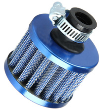12mm Auto Vehicle Car Air Filter Cold Air Intake Filter Turbo Vent Crankcase Breather Universal Cold Kits Drop Shipping(China)