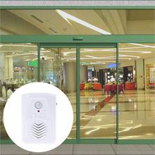 Wireless Doorbell PIR Store Shop Welcome Motion Sensor Infrared Detector Induction Alarm Door Bell Waterproof Doorbell(China)