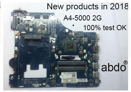abdo VAWGA/GB LA-9911P motherboard for Lenovo G505 notebook motherboard CPU A4-5000 DDR3 100% test work