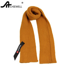 Achiewell 2017 Autumn And Winter Scarf Female Fashion Cashmere Scarf Women Yellow Echarpe High Quality Shawl Szale(China)