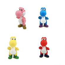 12cm 5 Colors  For Mario Bros Yoshi PVC Figure Model Action Figure Toys 5inch Anime Collection Toys Childrens Toys