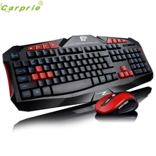 Hot-sale High Quality Game Keyboard & Mouse Combo Gaming Wireless 2.4G Keyboard and Mouse Combo Set Computer Multimedia Gamer