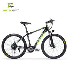 New Richbit RT-800 Smart Electric Bicycle Mountain eBike 250W 36V Inner Removable Battery 21 Speeds Energy Saving Electric bike(China)