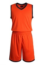 Blank Basketball Suit Team Name Logo Custom Usa Basketball Throwback Sleeveless Basketball Uniforms Factory Orange Breathable