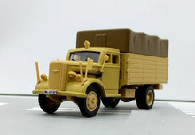 rare 1:72 German Op el 3 ton alloy truck model AMER Collection model Holiday gifts(China)
