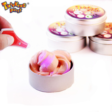 Novelty Creative Hand Gum Discolor Plasticine Slime Intelligent Silly Putty light UV Clay Relieve Stress Mud Toys Kids Gift(China)