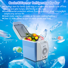 Excelvan BT17 Portable 12V 7.5L Auto Car Mini Fridge Travel Refrigerator Quality ABS Multi-Function Home Cooler Freezer Warmer