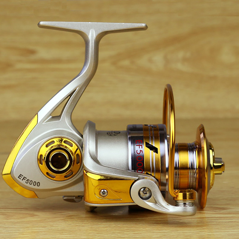 FDDL Metal Fishing Reel Baitingcasting Reel 5.51 EF1000-7000 10BB Lake Ocean Ice Fishing Gear Spinner Reel Fishing Coils (1)