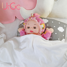 URGE kawaii stuffed plush animals cartoon kids toys reborn baby dolls for girls rabbit toy for children birthday Christmas Gift(China)