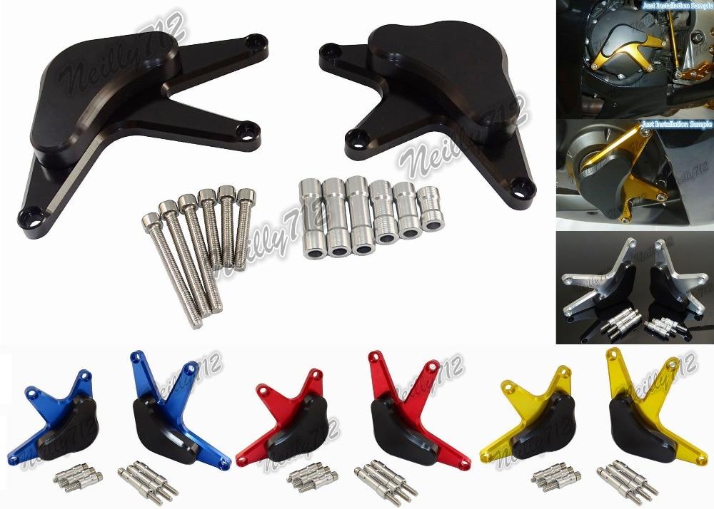 waase Engine Stator Crash Pad Slider Protector For Honda CBR1000RR CBR 1000 RR 2008 2009 2010 2011 2012 2013 2014-2017<br>