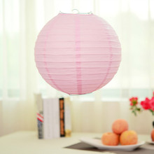 LumiParty Wholesale Cheap White Round Paper Lantern Chinese Paper Lantern for Wedding Party Decorations  Paper Ball Lamp