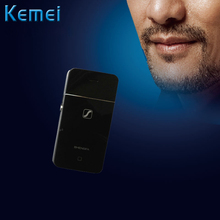 Kemei Rechargeable Razor Professional Electric Shaver Men's Razor Replacement Head Ultrathin Charging To Use 35Minutes