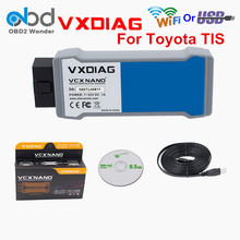 VXDIAG VCX NANO For TIS Techstream V10.10.018 Compatible With SAE J2534 VXDIAG For TOYOTA Techstream Scanner Tool Free Shipping