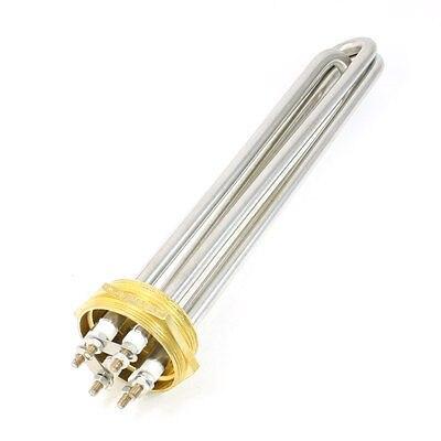 AC 380V 6000W 6P Terminals Water Boiler Heating Element 3U Shape Tube Heater<br>
