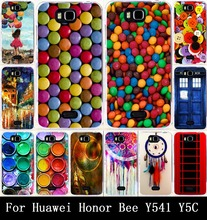 Print Paintbox Chocolate Candies Painted Hard PC & Soft TPU Cases For Huawei Honor Bee/ Y5C/ Y541 Case Cover Back Skin Shell