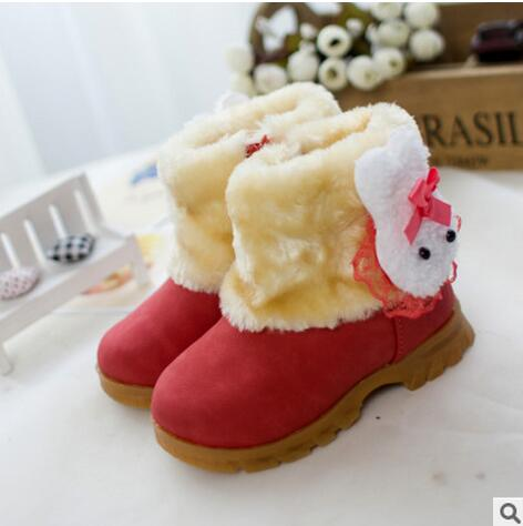 2017 child casual shoes male female sport shoes leather boys girls sneakers baby Moccasins kids solid color snow martin boots(China (Mainland))