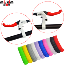 mi.Xim MTB Bike Colorful Brake Lever Grip Cycling Brake Lever Protector Bicycle Handbrake Lever Cover for SHIMANO SRAM Giant
