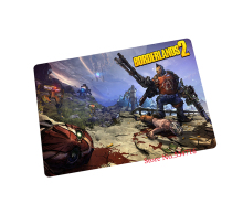 borderlands mouse pad gear Colourful game pad to mouse notebook computer mouse mat brand gaming mousepad gamer laptop(China)