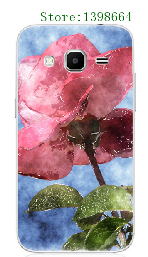 Online custom Luxury Rose Plastic Mobile Phone font b Case b font Cover for font b