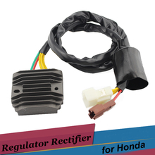 black Motorcycle Regulator Rectifier Voltage for Honda XL1000V VARADERO XLV1000 2003 2004 2005 2006 2007 2008 2009 2010