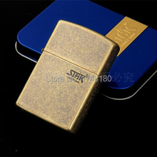 New 2015 High Quality Brand cigarette Lighter Fashion Ancient bronze kerosene windproof lighters grinding wheel lighters