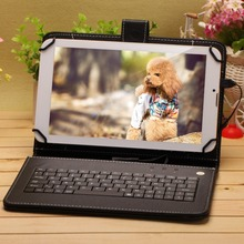 9 inch Build in Dual SIM card  Phone Call GPS GSM 2G 8G TabletS PC Dual Core Android 4.2 WIFI Dual Camera gift as Keyboard cover
