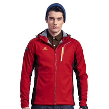 2017 New Winter Men's Soft Shell Jackets Outdoor Sport Brand Clothing Waterproof Thermal Camping Ski Inside Fleece Coats VA043