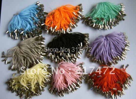 Freeshipping!!! 1000pcs colorful Moblie Phone Chain,jewelry pendant chain DIY Jewelry Chain Findings(can choose color)(China (Mainland))