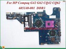 605140-001 For HP Compaq G42 G62 CQ42 CQ62 Laptop Motherboard DA0AX3MB6C2 PGA478 DDR3 100% Tested&Testing Video Support