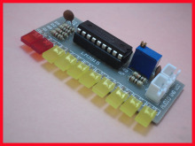 Free Shipping! 10pcs LM3915 fun 10-segment audio level indicator kit / electronic production parts(China)