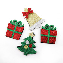 David accessories 10pcs Christmas accessories non-woven patch fabric ,DIY Holiday handmade materials,10Yc2916