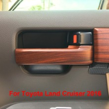 Interior Door Handle Penal Covers For Toyota Land Cruiser 200 V8  LC200 Accessories 2008-2016