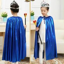 Buy Children Girl Halloween Cosplay Party Costume Princess Cloak Princess Kids Stage Girls Fancy Dress Party Solid Cloak Props for $5.44 in AliExpress store