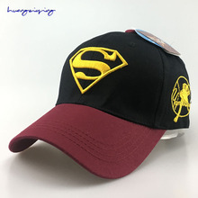 Summer Outdoors Sunshade Sun Cap Men & Women Hat Hip Hop Style Baseball Hat Shopping Travel Curved Hat Superman Cap
