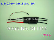 2pcs/lot 125A(OPTO) Brushless ESC Speed Controller For RC Airplane Aircraft Model Brand New + Free Shipping Best Service(China)