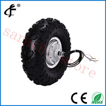 "24V  500W 14.5""  electric wheel hub motor,brushless hub motor,skateboard electric motor"