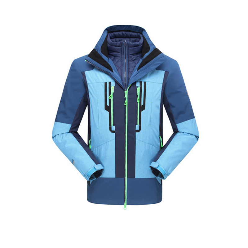 2016 Time-limited New Winter Jacket Ski Mountaineering Hiking Couple Jackets Thick Warm Wind And Waterproof Male Female Models <br><br>Aliexpress