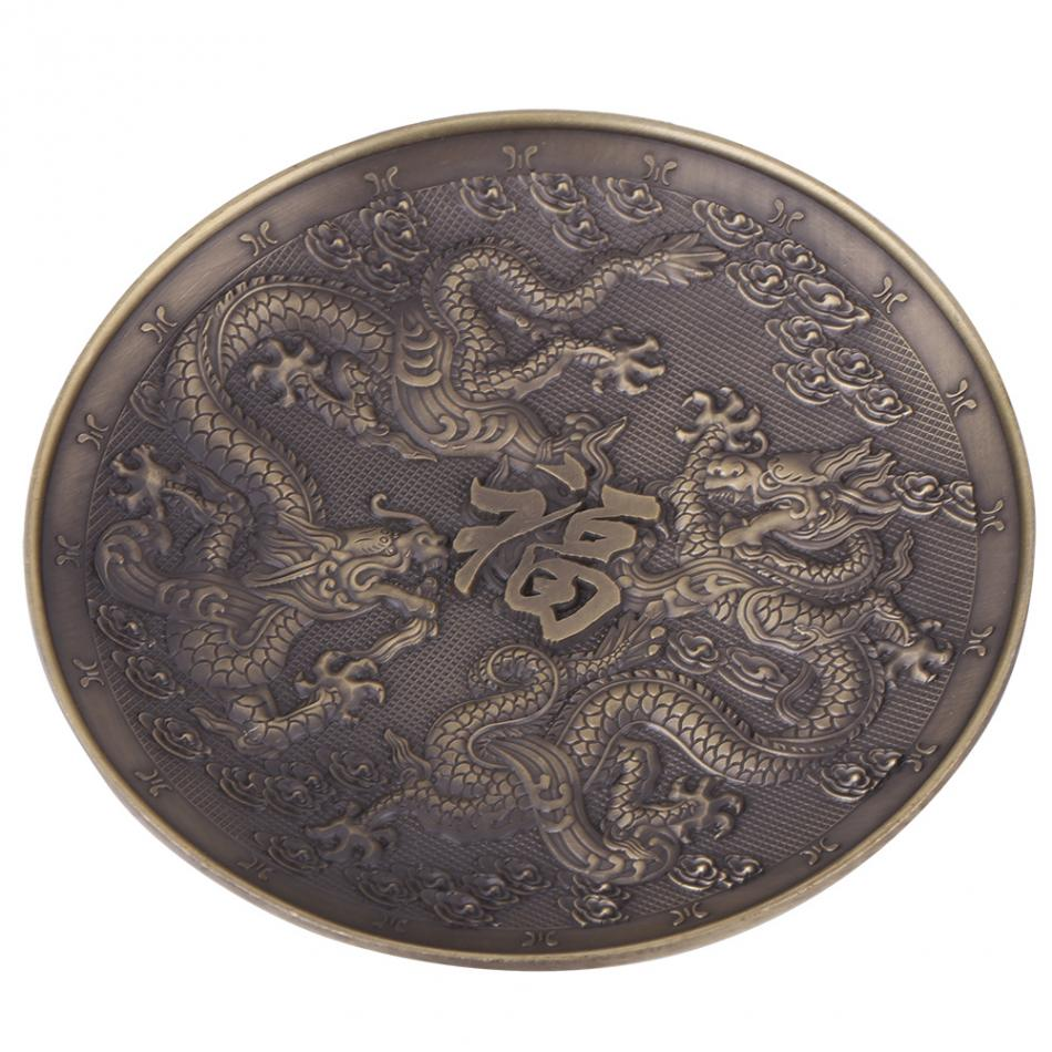 Porte encens dragon cuivre doré | oko oko