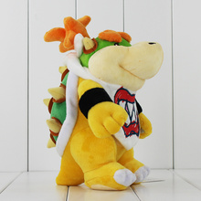 Bowser JR Koopa Bowser Dragon Plush Doll Cartoon Soft Plush Toy Super Mario Bros Plush Toys 21cm(China)
