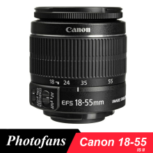 Canon 18-55 Lens Canon EF-S 18-55mm f/3.5-5.6 IS II Lenses with Optical Image Stabilization