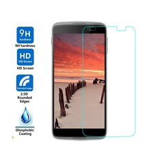 "Tempered Protector Glass Film For Alcatel One Touch POP C5 C7 C9 Pop 3 5.5"" 5025D 5.0"" 5015D Pixi3 4.5"" 5019D 5017D PIXI 4 Idol3(China)"