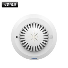 2017 KR-SD03 high sensitivity Smoke Fire Detector/Sensor linkage with kerui home Alarm System low battery remind Voice prompts