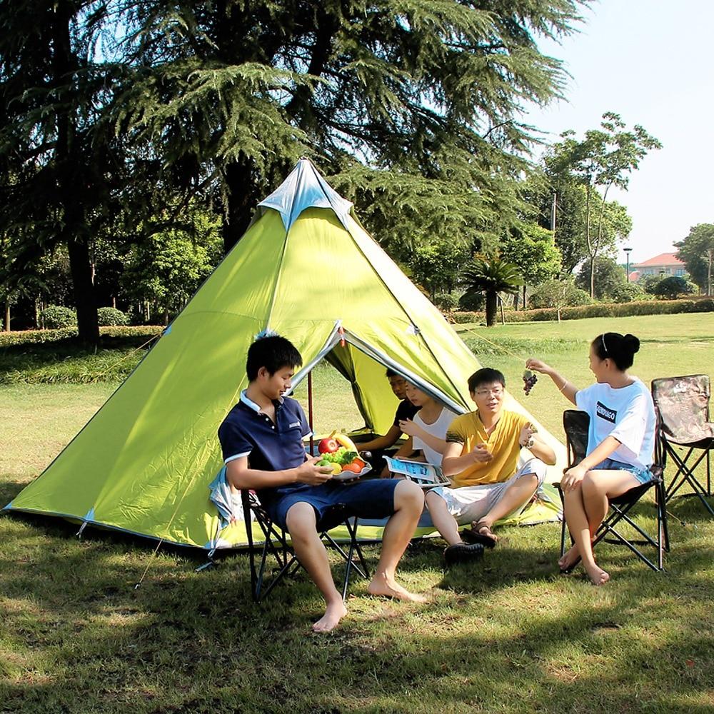 380*340*200cm 6-8 Person Camping Tents Waterproof Mongolian Yurt  Hewolf Outdoor Party Famliy Tents Windproof China Shop Online<br><br>Aliexpress