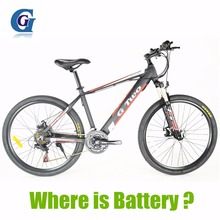 G8 26 inches Hidden Battery Electric Bicycle, 48V 250W/350W, Aluminum Alloy Frame, Disc Brake, 21 Speed E Mountain Bike