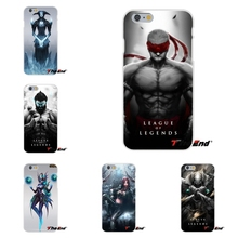 For Huawei G7 G8 P8 P9 Lite Honor 5X 5C 6X Mate 7 8 9 Y3 Y5 Y6 II Cool League of Legends LOL Games Slim Silicone Case