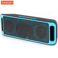 Zeepin K812 SAMSBO Portable Bluetooth V2.1 Stereo Speaker Wireless Support FM Radio AUX USB TF Card Mic for IOS Android Phone