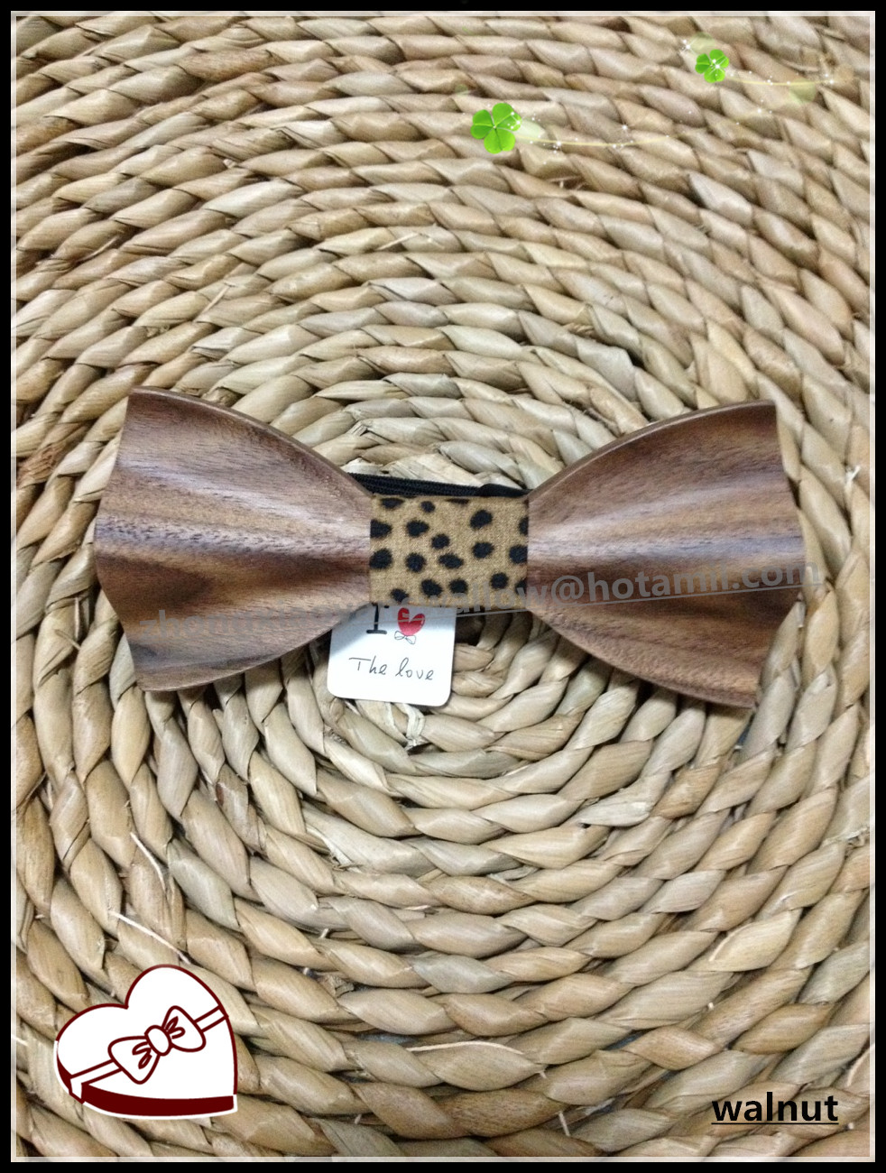tie g Novelty Bow Ties For Men Wood Material Geometric Bowtie for wedding party wood bw tie shirt tie men(China)