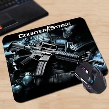 CS counter-strike Funny Mat Free Shipping Mouse Pad Rubber Mat Two Sizes